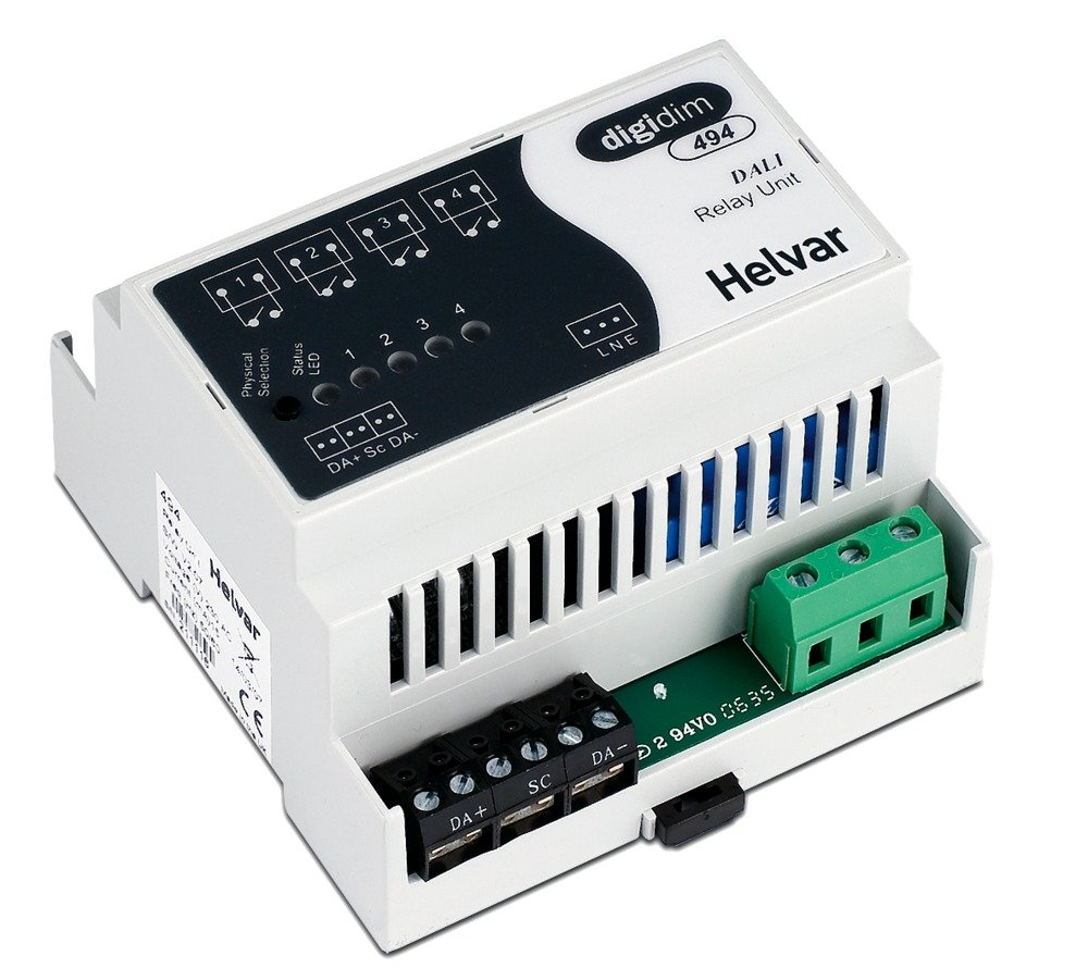 494 Digidim Four Relay Unit Product Image