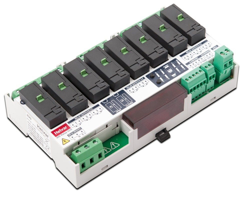 499 8-Channel Latching Relay Unit